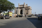 The famous Gateway of India - on a very quiet day.