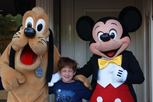 Pluto, Mickey and Me
