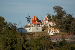Local temple, Kumaon, India.